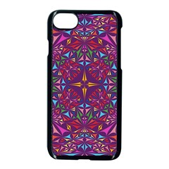 Kaleidoscope  Iphone 8 Seamless Case (black) by Sobalvarro