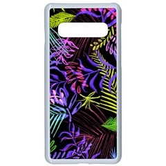 Leaves  Samsung Galaxy S10 Seamless Case(white) by Sobalvarro