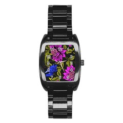 Botany  Stainless Steel Barrel Watch by Sobalvarro