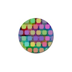 Pattern  Golf Ball Marker (10 Pack) by Sobalvarro