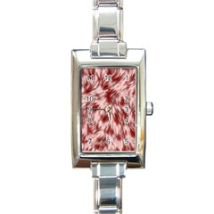 Abstract  Rectangle Italian Charm Watch by Sobalvarro