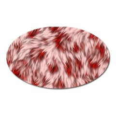 Abstract  Oval Magnet by Sobalvarro