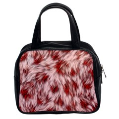 Abstract  Classic Handbag (two Sides) by Sobalvarro