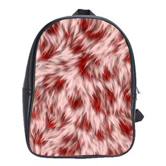 Abstract  School Bag (large) by Sobalvarro