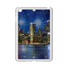 City Smart Modern Future Connect Ipad Mini 2 Enamel Coated Cases by Wegoenart