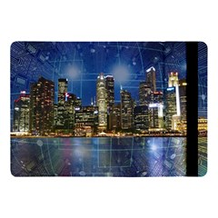 City Smart Modern Future Connect Apple Ipad 9 7 by Wegoenart