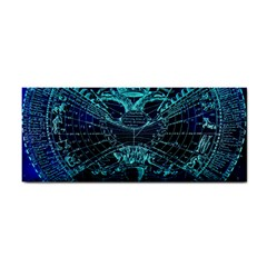 Zodiac Sign Astrology Horoscope Hand Towel by Wegoenart