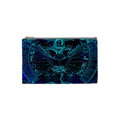 Zodiac Sign Astrology Horoscope Cosmetic Bag (small) by Wegoenart