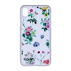 Leaves Iphone Xr Seamless Case (white) by Sobalvarro