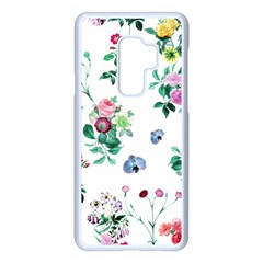 Leaves Samsung Galaxy S9 Plus Seamless Case(white) by Sobalvarro