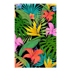 Tropical Greens Shower Curtain 48  X 72  (small)  by Sobalvarro