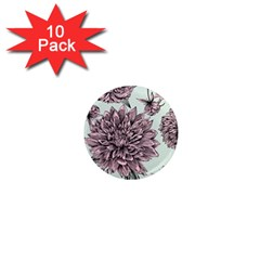 Flowers 1  Mini Magnet (10 Pack)  by Sobalvarro