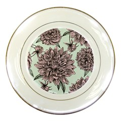 Flowers Porcelain Plates by Sobalvarro