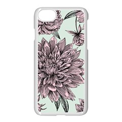 Flowers Iphone 7 Seamless Case (white) by Sobalvarro