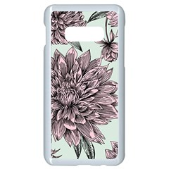 Flowers Samsung Galaxy S10e Seamless Case (white)