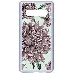 Flowers Samsung Galaxy S10 Plus Seamless Case(white) by Sobalvarro