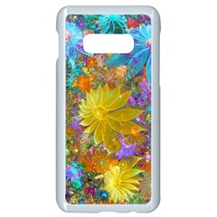 Apo Flower Power  Samsung Galaxy S10e Seamless Case (white) by WolfepawFractals