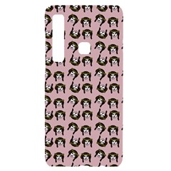 Retro Girl Daisy Chain Pattern Light Pink Samsung A9 Black Uv Print Case