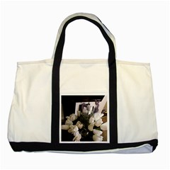 Tulips 1 1 Two Tone Tote Bag by bestdesignintheworld