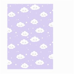 Kawaii Cloud Pattern Large Garden Flag (two Sides)