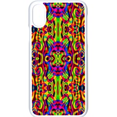 Abstract 35 Iphone Xs Seamless Case (white)