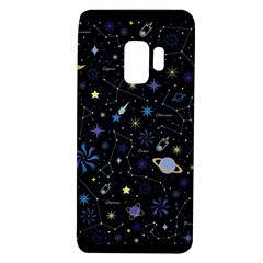 Starry Night  Space Constellations  Stars  Galaxy  Universe Graphic  Illustration Samsung Galaxy S9 Tpu Uv Case
