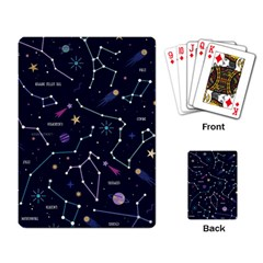 Space Wallpapers Playing Cards Single Design (rectangle)