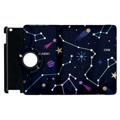 Space Wallpapers Apple Ipad 3/4 Flip 360 Case