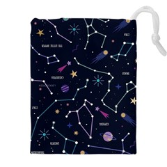 Space Wallpapers Drawstring Pouch (5xl)