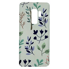 Dark Tone Plant Pattern Samsung Galaxy S9 Plus Tpu Uv Case
