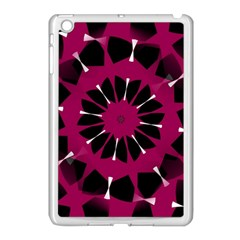 Pink And Black Seamless Pattern Apple Ipad Mini Case (white)