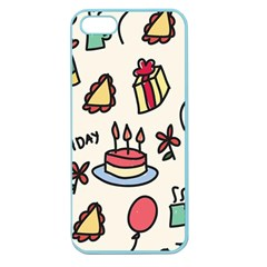 Kids Birthday Apple Seamless Iphone 5 Case (color)