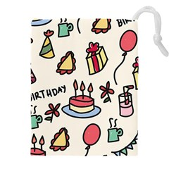 Kids Birthday Drawstring Pouch (5xl)