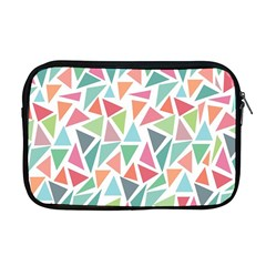 Colorful Triangle Vector Pattern Apple Macbook Pro 17  Zipper Case