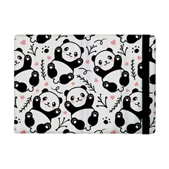 Panda Pattern Apple Ipad Mini Flip Case by Vaneshart