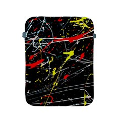 Random Paint Splats Background Apple Ipad 2/3/4 Protective Soft Cases