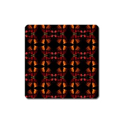 Christmas Bells Background Square Magnet by Vaneshart