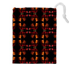 Christmas Bells Background Drawstring Pouch (3xl)