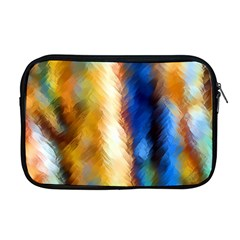 Abstract Paint Smears Apple Macbook Pro 17  Zipper Case