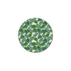 Leaves Tropical Wallpaper Foliage Golf Ball Marker (10 Pack) by Vaneshart
