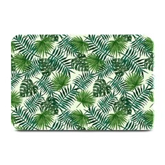 Leaves Tropical Wallpaper Foliage Plate Mats by Vaneshart