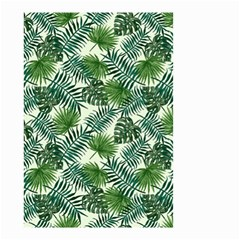 Leaves Tropical Wallpaper Foliage Small Garden Flag (two Sides) by Vaneshart