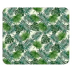 Leaves Tropical Wallpaper Foliage Double Sided Flano Blanket (small)  by Vaneshart