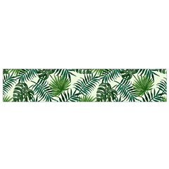 Leaves Tropical Wallpaper Foliage Small Flano Scarf by Vaneshart
