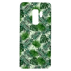 Leaves Tropical Wallpaper Foliage Samsung Galaxy S9 Plus Tpu Uv Case