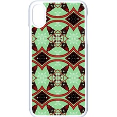 Christmas Pattern Iphone Xs Seamless Case (white)