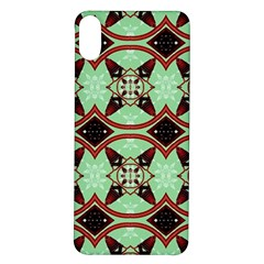 Christmas Pattern Iphone X/xs Soft Bumper Uv Case