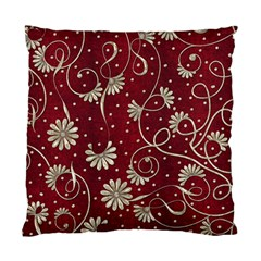 Floral Pattern Background Standard Cushion Case (two Sides) by Vaneshart