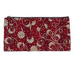 Floral Pattern Background Pencil Cases
