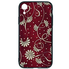 Floral Pattern Background Iphone Xr Soft Bumper Uv Case